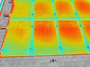 termowizja paneli fotowoltaicznych