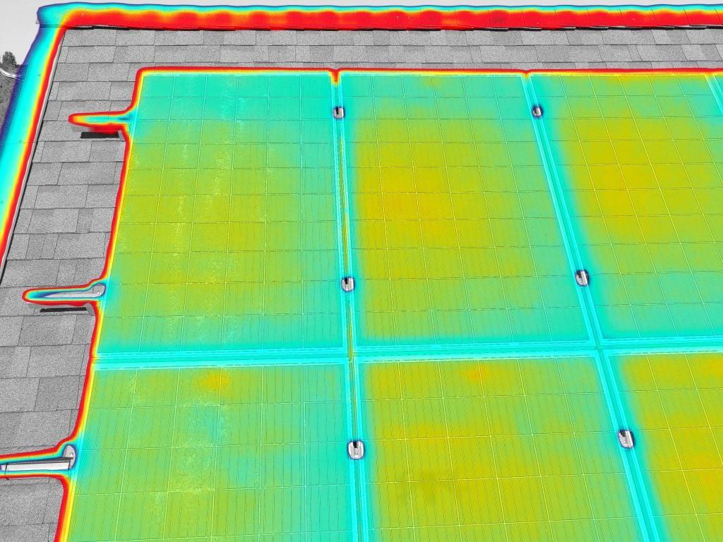 przegląd termowizyjny panele fotowoltaiczne